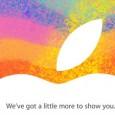 A su puro estilo, Apple ha lanzado la invitación para que todos estemos al pendiente el próximo 23 de Octubre, misma que parece asegurar la llegada del iPad Mini, ya...