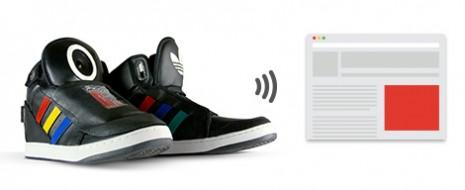 """Con la ayuda de las agencias Studio 5050 y YesYesNo Google presentó su nueva locura en el eventoSXSW """"Talking Shoes"""". Talking Shoes aún está lejos de ser un producto comercial,..."""