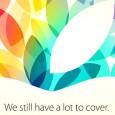 Apple se prepara para su tercer evento del año, éste se llevará acabo en San Francisco el próximo 22 de octubre, la Compañía de la manzana envió las invitaciones a...