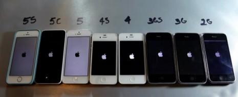 Apple ha lanzado 8 iPhones desde el 2007, cada uno con la promesa de tener un mejor funcionamiento que el pasado, pero ¿realmente es así? En Youtube el usuarioEverythingApplePro subió...