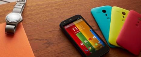 Moto G contará con dos versiones 8 GB (2,799 pesos) y 16 GB (3,299 pesos)