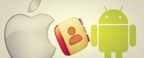 Un método fácil y rápido para pasar los contactos de tu iPhone a tu Android
