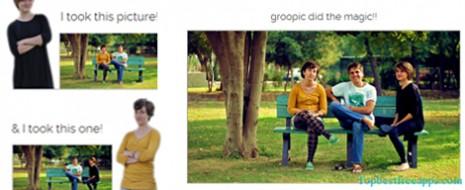 Groopic permite que todos salgan en una fotografía sin tener que pedirle ayuda a un tercero