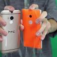"""El One M8 y el Lumia 930 también lograron realizar el """"Ice Bucket Challenge"""" sin sufrir ningún daño."""